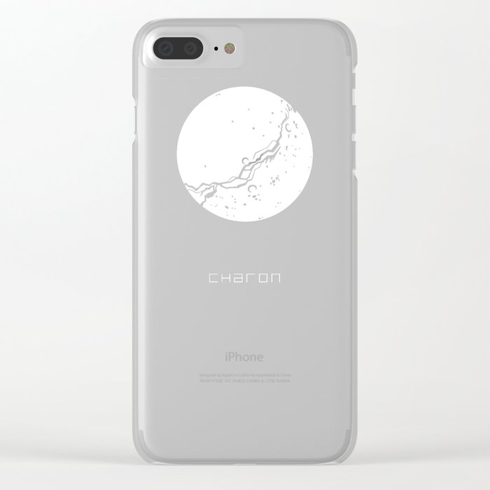 CHARON Clear iPhone Case
