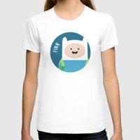 finn T-shirts featuring Finn by gaps81