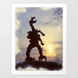 Cracow - wawel dragon Art Print