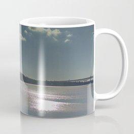 Winter on the Thames River, CT Coffee Mug