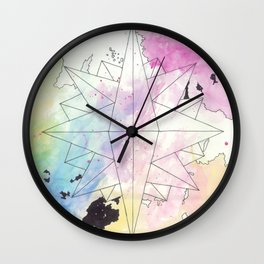 C.O.M.P.A.S.S. No. 2 Wall Clock