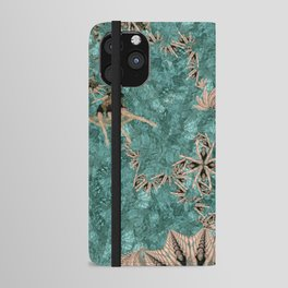 Synchro Fractals iPhone Wallet Case