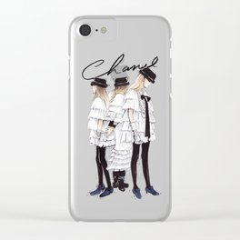 Ready To Wear Clear iPhone Case