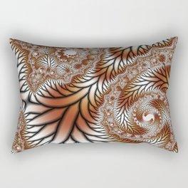 Tree Dance Fractal Rectangular Pillow