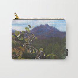 Blackberries Under Sleeping Beauty Carry-All Pouch