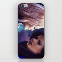 swan queen iPhone & iPod Skins featuring Swan Queen - Keep sailing by Two Swen Idiots