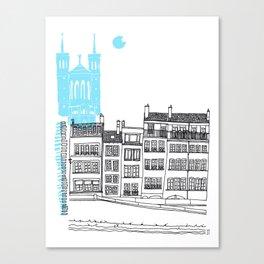 Lyon, France Canvas Print