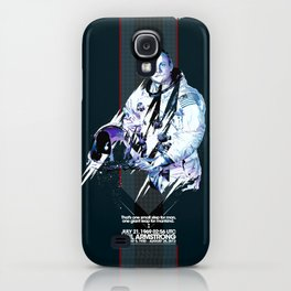 Neil Armstrong Tribute iPhone Case