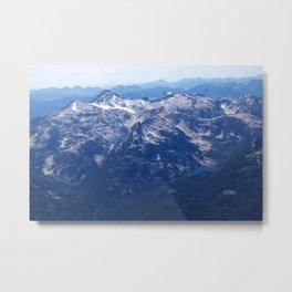 Mountain Lakes2 Metal Print