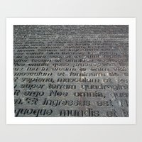 ground texture Art Print