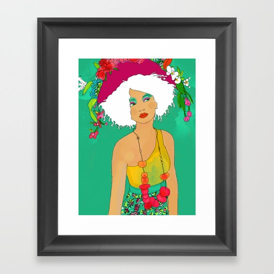Miaa Framed Art Print