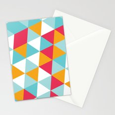 Tropical Triangles Stationery Cards