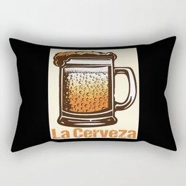 Loteria - La Cerveza Rectangular Pillow