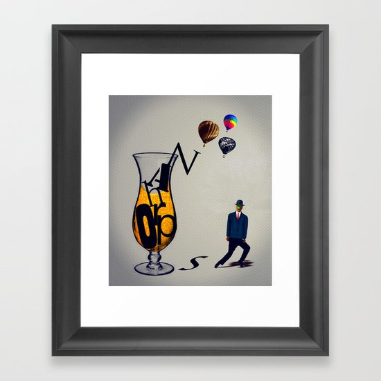 MixMotion: Orphans Framed Art Print