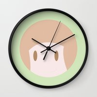 kill la kill Wall Clocks featuring MAKO! ~KILL LA KILL~ by anthonykun