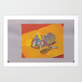 Chocolate Kisses Art Print