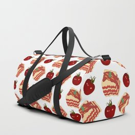 pasta pattern Duffle Bag
