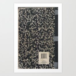 Notebook Art Print