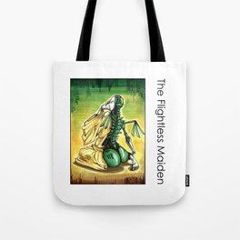The Flightless Maiden Tote Bag