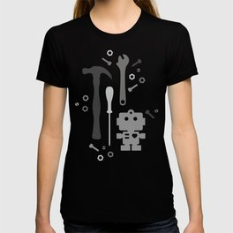 Techie Tools - black and grey T-shirt
