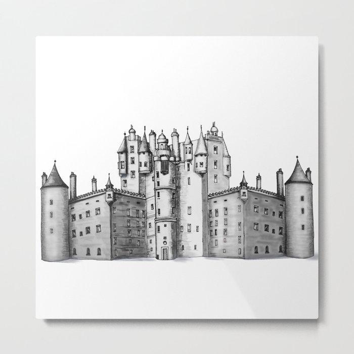 huge castle Metal Print