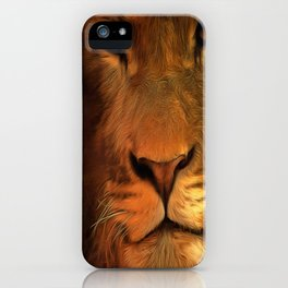 Lion II iPhone Case