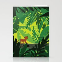 simba Stationery Cards featuring Lion King - Simba Pattern by Cina Catteau