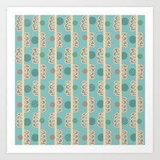 Dots & Lines Art Print