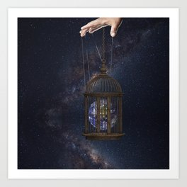 Surrealism Fantasy Earth Art Print