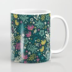Midnight Florals (pop) Mug