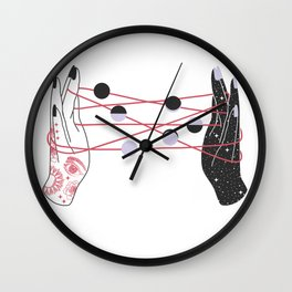 The Moon Players Wall Clock
