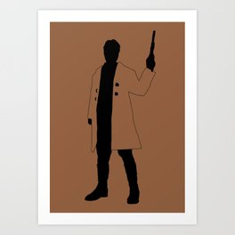 Big Damn Heroes: Mal Reynolds Art Print