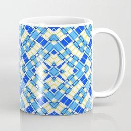 Starlight - Blue and Yellow Coffee Mug