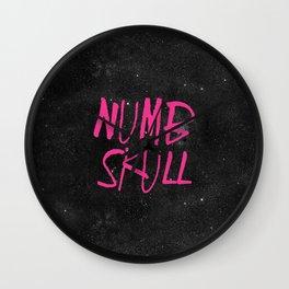 NUMBskull Wall Clock