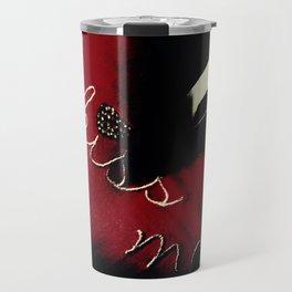 Kiss Me (Blood Red) Travel Mug