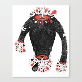 SALVAJEANIMAL headless II Canvas Print