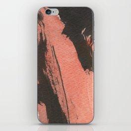 Red Ripple iPhone Skin