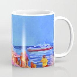 Istanbul Pop Art Coffee Mug