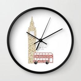 Big Ben & Bus Wall Clock