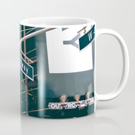Broadway Street Sign (Color) Coffee Mug