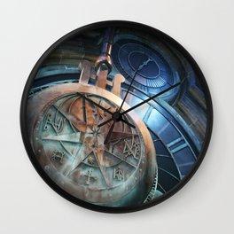 When Clock Strikes At Midnight Wall Clock