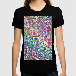 Colorful Synaptic Channels T-shirt
