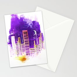 THE CITY THAT NEVER SLEEPS Stationery Cards