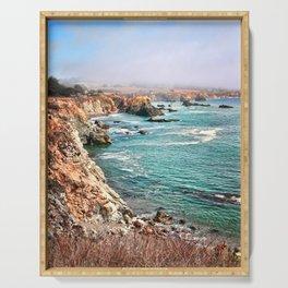 California coastline Serving Tray