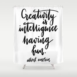 Creativity Shower Curtain