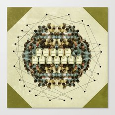 Human Network Canvas Print