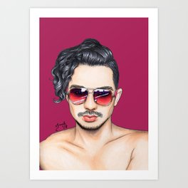 Colored Glasses - No. 24 Art Print