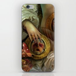 """""""Doll house Belly"""" iPhone Skin"""