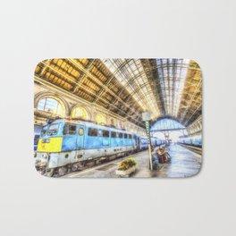 Keleti Railway Station Budapest Art Bath Mat