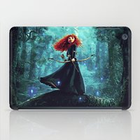 brave iPad Cases featuring Brave by Juniper Vinetree